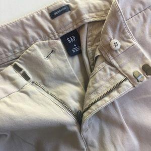 Gap stretch khakis size 8